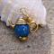 2 Gold tone tea pot Teapot Kettle frame settings for beads