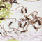 20 Copper tone Earring Earrings Hooks Ear wires with ball 20x18mm