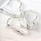 10 Kidney Leverback lever back silver plated ear wires earrings hooks