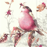 4 Paper Napkins / Serviettes - High Quality 3 PLY for Decoupage - Finch