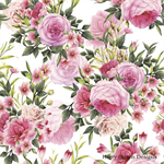 4 Paper Napkins / Serviettes - High Quality 3 PLY for Decoupage - Rose Bunch