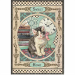 Rice Paper - Decoupage - 1 x A4 Size Sheet - Sweet Kitten