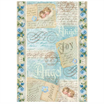 Rice Paper - Decoupage - 1 x A4 Size Sheet - Angels