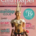 Cloth Paper Scissors, Mixed Media, September/October 2012, Issue 44, Destash