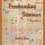 Jackies Freehand Seminar, Jackie Shaw, Folkart, Decorative Painting, Destash