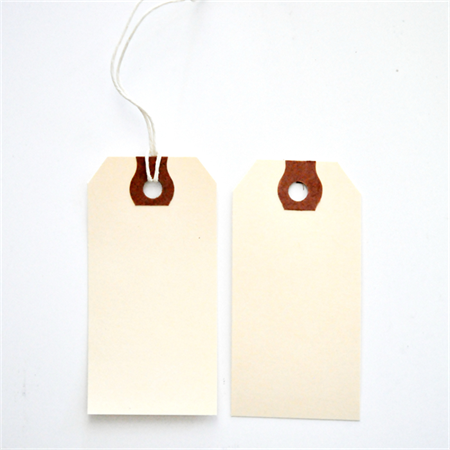 Shipping Tags {50} Size 3 Manila Threaded Labels | Vintage Style Avery