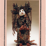DOLL PATTERN, Gondwana, Fabric Tree Doll, Pamela Howard Kenta, Craft Destash