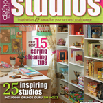CLOTH PAPER SCISSORS, Studios Magazine, Spring/Summer 2009, Craft Destash