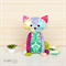 Cat Sewing Pattern Scrappy Paws Softie PDF Pattern