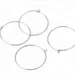 30 Stainless Steel Hoop Earring 