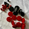 16 Coloured 12mm Cabochon Settings Earring Post