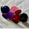 10 Coloured 12mm Cabochon Settings Earring Post