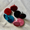 8 Coloured 12mm Cabochon Settings Earring Post