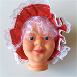 Doll Head - Mrs Clause