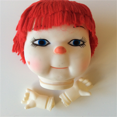 Darice Doll Head and Hands  34cm Circumference