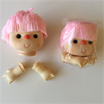 Doll Head and Hands - Large 32cm