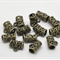 80 Antique Bronze Hollow Carved Bails