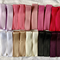 20 Grosgrain Covered Hair Clips-Mixed and Colourful