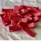 18 Grosgrain Covered Hair Clips- Lolly  Pink
