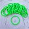 25 x Thick Bright Green Hair Ties/Elastics