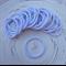 25 x Thick White Hair Ties/Elastics