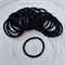25 x Thick Black Hair Ties/Elastics