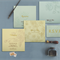 CREAM MATTE BOX THEMED - OFFSET PRINTED WEDDING INVITATION