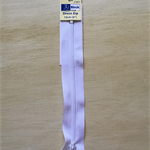 1 x White 6 inch Dress zipper