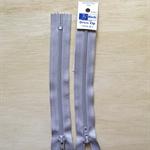 2 x Smoke Grey 6 inch Dress zippers