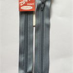 2 x Grey 5 inch Dress zippers