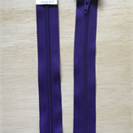 2 x Deep Purple 7 inch Dress Zippers