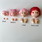 4 Extra Large Doll Heads and Hands + Patterns (bundle 4)