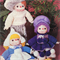 12 Medium Sized Doll Heads and Hands + Patterns (bundle 2)