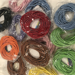 260 hair ties -mixed colours