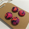 LIBERTY LONDON Tana Lawn covered Buttons, 15mm diameter, Kussman