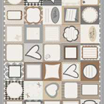 Quilt Labels | Creams, Browns and Black | Lovely Designs!