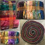Tulis Lickety Splits Muted Batik Jelly Roll