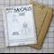McCalls M5513 lined coat uncut pattern. Size 10 - 16