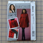 McCalls M5513 lined coat uncut pattern. Size 10 - 16