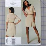 Vogue V1285 uncut pattern. Dress pattern. Sizes 8 - 16