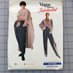 Vogue 2377 uncut pattern. Blouse, pants and poncho pattern. Sizes 12 - 16