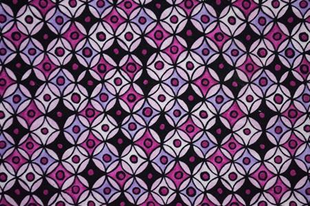 Ellen Medlock 915 Hippy Hoops fabric - Cotton Fabric - Price per half meter