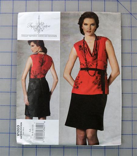 Vogue V1203 uncut pattern. Sizes 6 - 12
