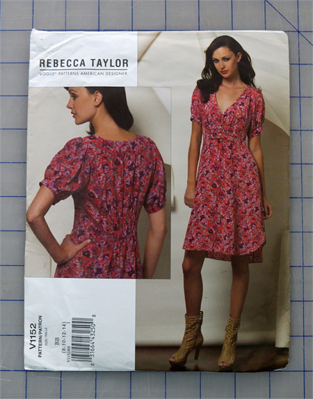 Vogue V1152 uncut pattern. Sizes 8 - 14