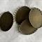 4 Antique Bronze Pendant Trays Settings Oval 30x40mm