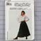 Simplicity 8184 circular skirt uncut pattern. Size 12