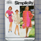 Simplicity 7664 dress and coat uncut pattern. Size 18-24