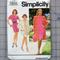 Simplicity 7664 dress and coat uncut pattern. Size 18-24