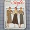 Style 4860 set of skirts uncut pattern. Size 18