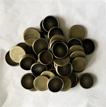 20Antique Bronze Trays Settings 12mm.